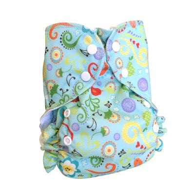 AMP Diapers One Size Duo Pocket Diaper - Melody