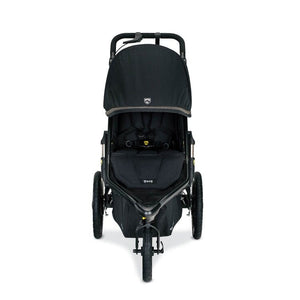 BOB Alterrain Pro Jogging Stroller - Black Front View