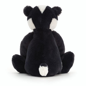 Jellycat Bashful Badger - Back