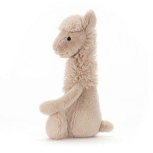 Jellycat Bashful Llama Side View