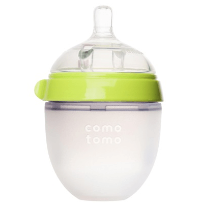 Comotomo Silicone Baby Bottle (Single) - Green 5 oz. / 150 ml
