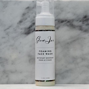 7.1oz - Glow Jar Foaming Face Wash