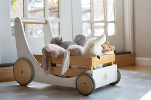 Kinderfeets Cargo Walker - White Lifestyle 1