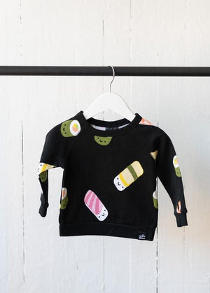Whistle & Flute All Over Print Sweatshirt - Kawaii Sushi Lifestyle 2