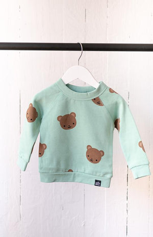 Whistle & Flute All Over Print Sweatshirt - Kawaii Bear Lifestyle