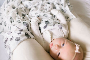 Loulou Lollipop Luxe Muslin Swaddle - Eat Your Veggies Lifestyle