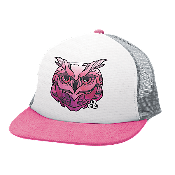 Ambler Apparel Faces Trucker Hat - Owl