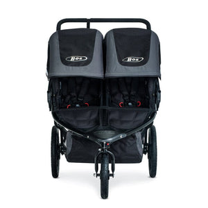BOB Gear Revolution Flex 3.0 Duallie Double Jogging Stroller - Graphite Black Front