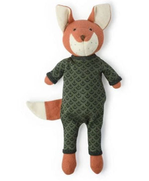 Hazel Village Reginald Fox Woodland Animal Doll - Leaf Romper