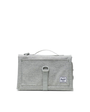 Herschel Sprout Change Mat - Light Grey Crosshatch