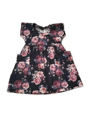 Urban Baby Apparel Pick Me Up Pocket Dress - Midnight Floral