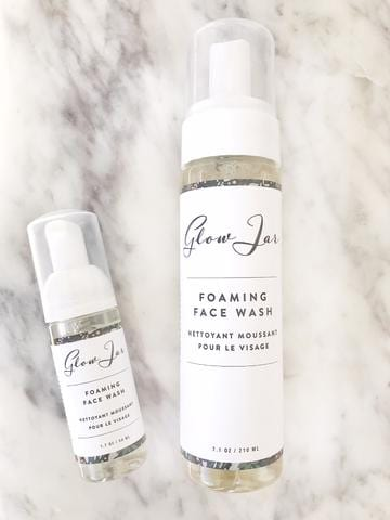 Glow Jar Foaming Face Wash