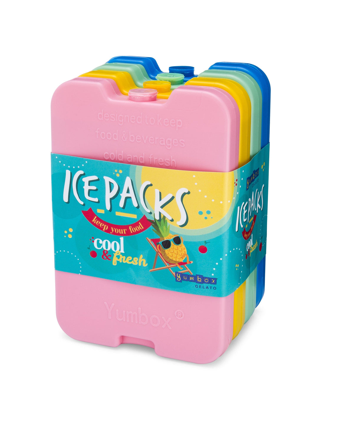 Yumbox Gelato Reusable Ice Packs 4 PK