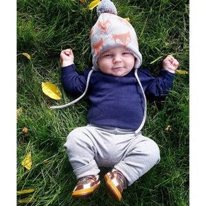Jan & Jul Toddler Knit Winter Beanie Hat - Fox Lifestyle 1