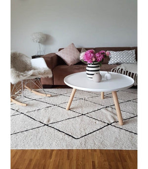 Lorena Canals Washable Bereber Rug - Beige Lifestyle 2