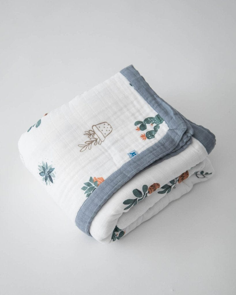 Little Unicorn Muslin Cotton Big Kid/Adult Quilt - Prickle Pots