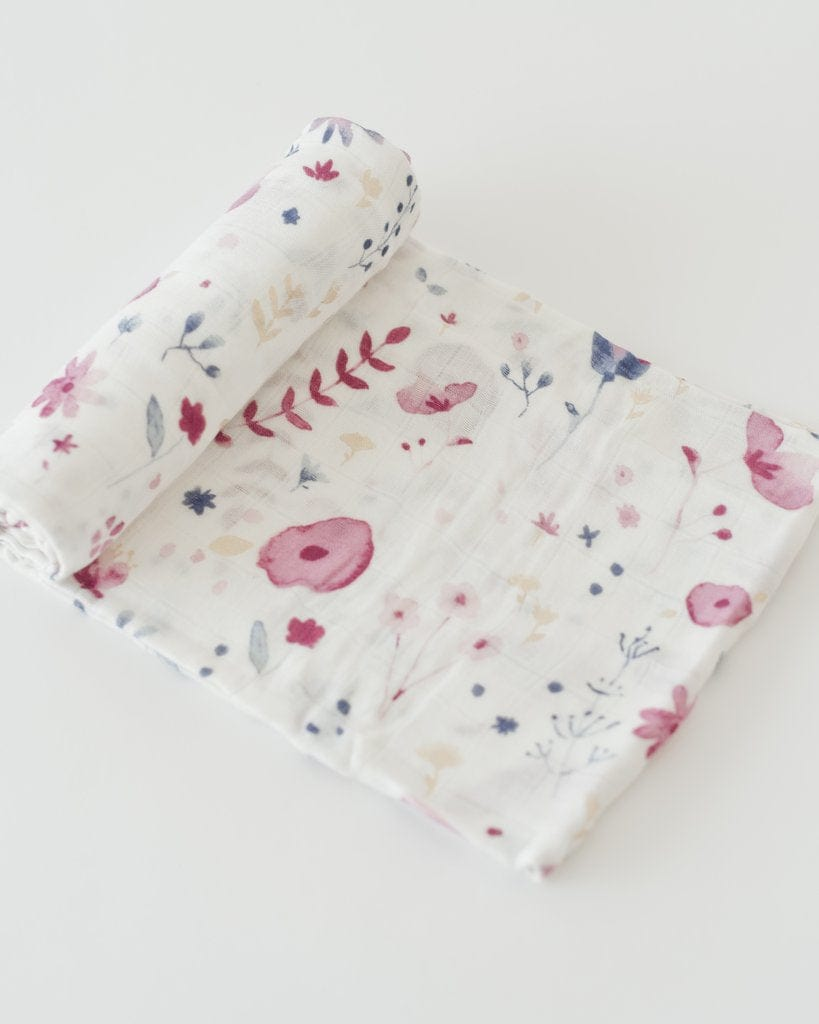Little Unicorn Deluxe Bamboo Muslin Swaddle - Fairy Garden