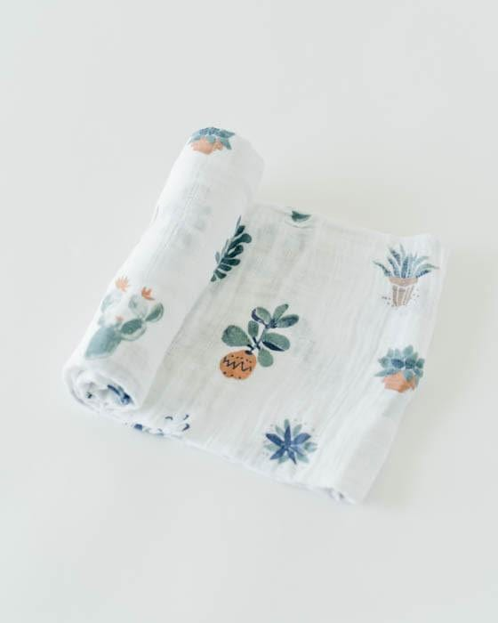 Little Unicorn Muslin Cotton Swaddle Single - Prickle Pots
