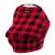 Milk Snob Cover - Lumberjack Car Seat Cover