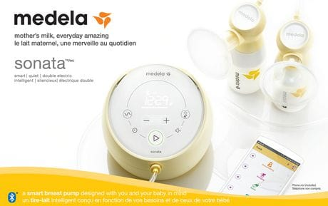 Medela Sonata Double Electric Breastpump 4