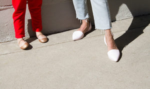 Native Shoes Adult Audrey Flats - Shell White Lifestyle 2
