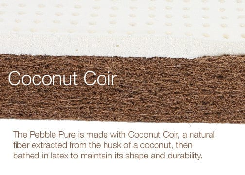 Nook Pebble Pure Mattress - Coconut Coir with Latex