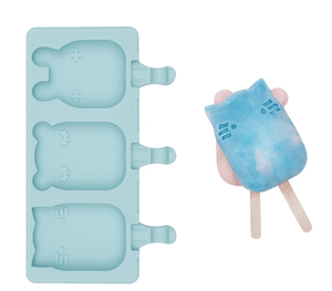 We Might Be Tiny Frosties Popsicle Molds - Minty Green 3
