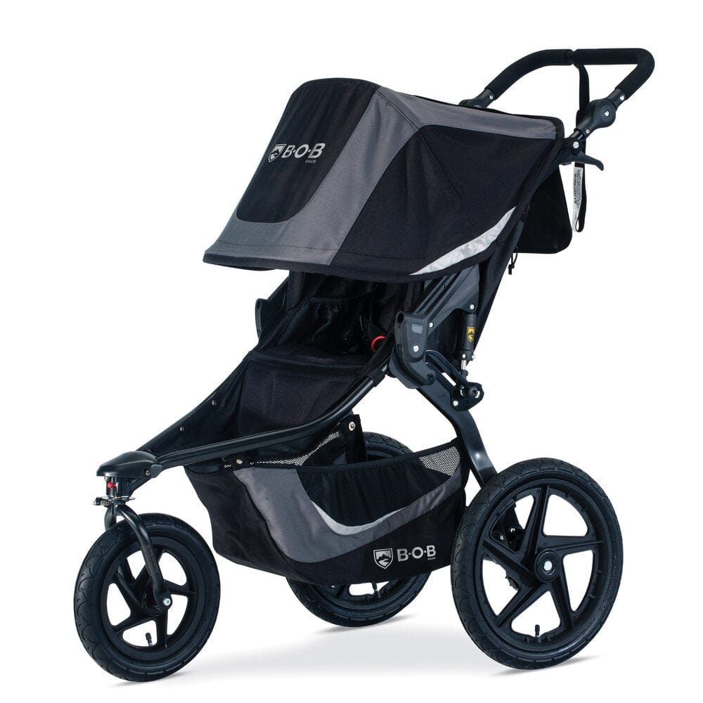 BOB Gear Revolution Flex 3.0 Jogging Stroller - Graphite Black
