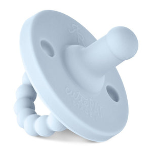 Ryan & Rose Cutie PAT Pacifier and Teether - Blue