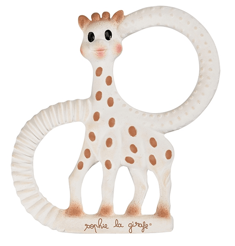 Sophie the Giraffe So Pure Natural Rubber Teether