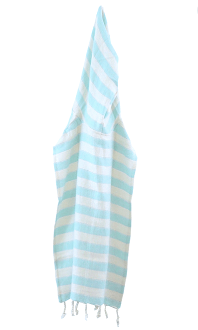 House of Jude Children's Poncho - Aqua