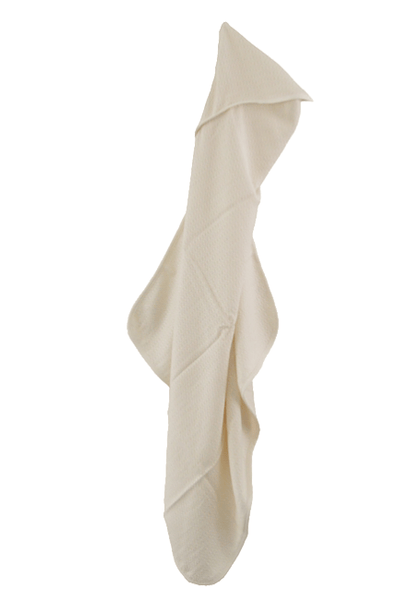 House of Jude Bamboo Hooded Baby Towel - Vanilla