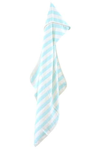 House of Jude Bamboo Hooded Baby Towel - Aqua