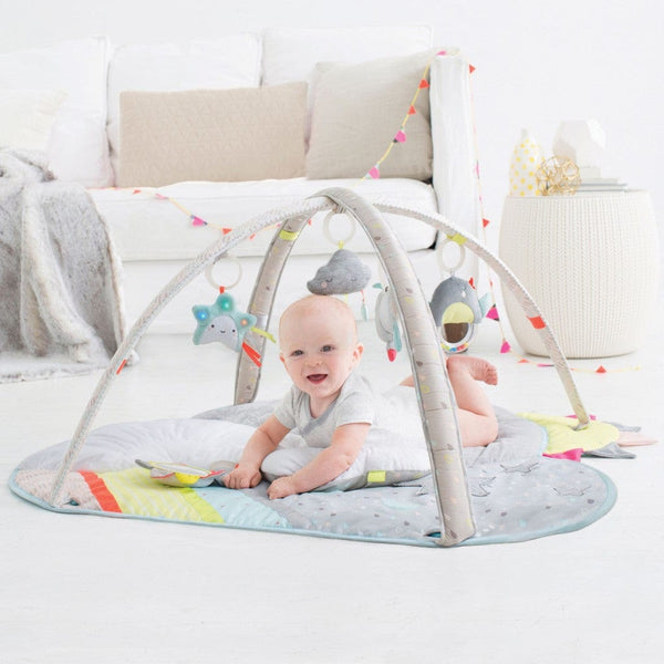 Skip Hop Silver Lining Activity Gym - Tummy Time Pillow
