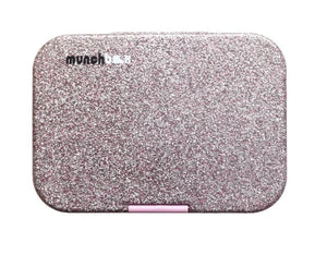 Munchbox Maxi6 Sparkle Collection - Glitter Pink Closed