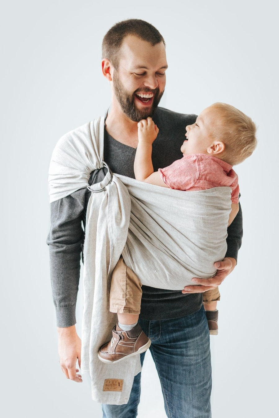 True North Linen Ring Sling - Tofino
