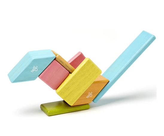Tegu Magnetic Blocks Set - Tints 1