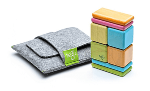 Tegu Magnetic Blocks Pocket Pouch - Tints