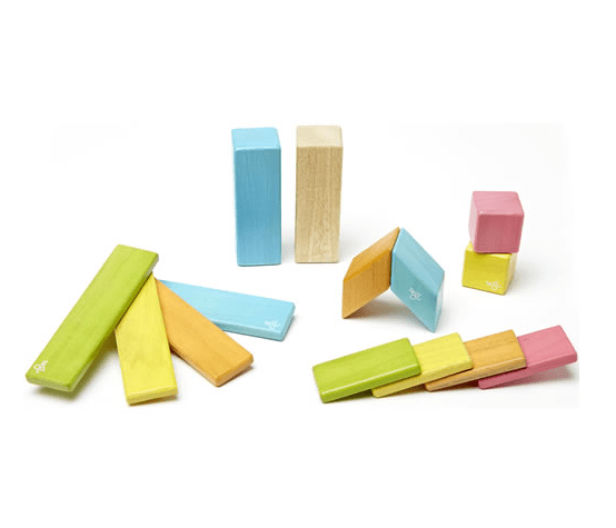 Tegu Magnetic Blocks 14 Pc Set - Tints