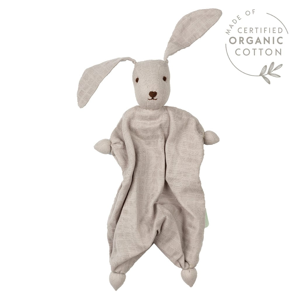 Peppa Hoppa Tino Organic Muslin Bonding Doll - Grey