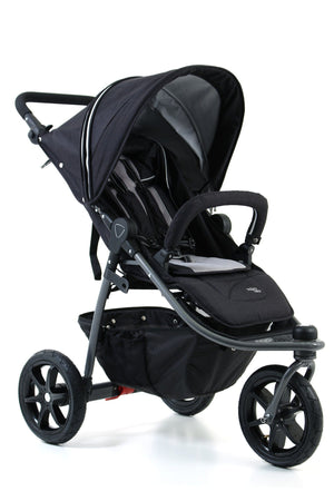 Night Black - Valco Baby Tri Mode X Stroller