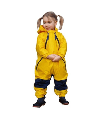 Tuffo Muddy Buddy Waterproof Coveralls - Yellow