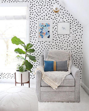 Urbanwalls Decals - Black Irregular Dots