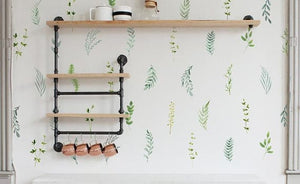 Urbanwalls Decals - Botanical Foliage 2