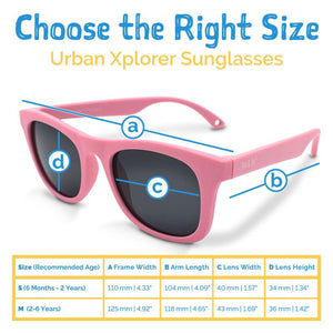 Jan & Jul Urban Xplorer Sunglasses Sizing