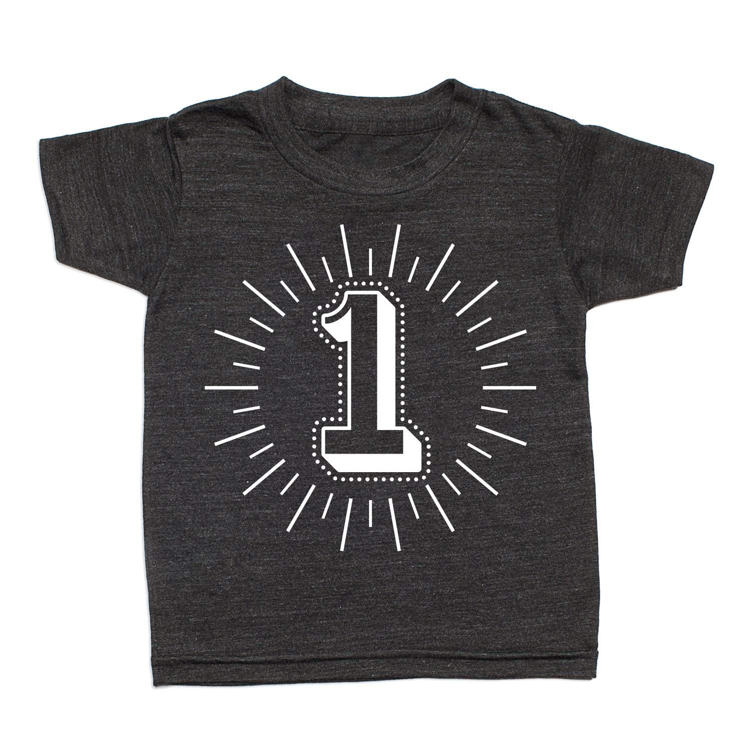 Whistle & Flute Milestone Number T-Shirt - No.1