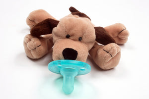 WubbaNub Infant Pacifier - Brown Puppy