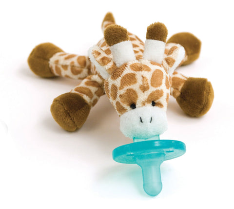 WubbaNub Infant Pacifier - Baby Giraffe