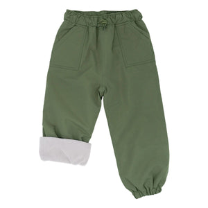 Jan & Jul Cozy-Dry Waterproof Pants - Green