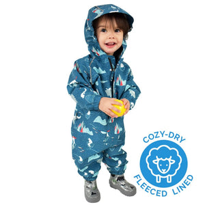 Jan & Jul Cozy-Dry Waterproof Play Suit - Arctic